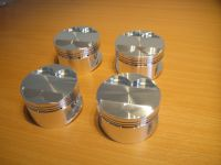 SET 4 BLUE SKY SPEC PISTONS, RINGS AND PINS